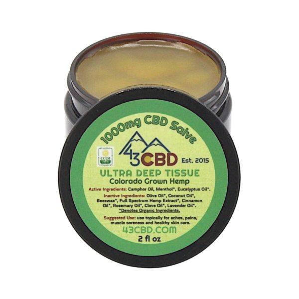 43 CBD Organic Salve 1000mg