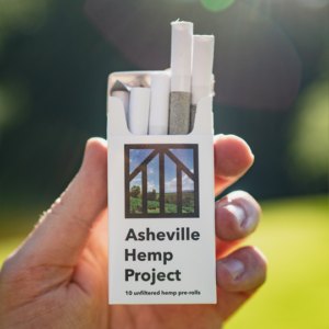 asheville hemp project hemp pre-rolls