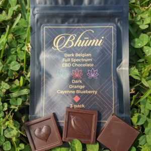 bhumi cbd dark chocolate