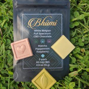 bhumi cbd white chocolate multi pack