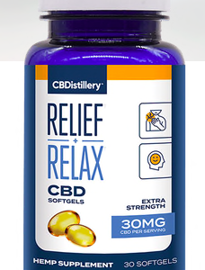 CBDistillery CBD Softgels Full Spectrum 30mg