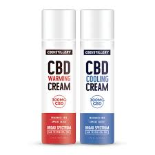 warming and cooling cbd cream by CBDistillery