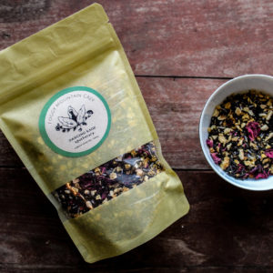 dancing sage foggy mountain grey black tea