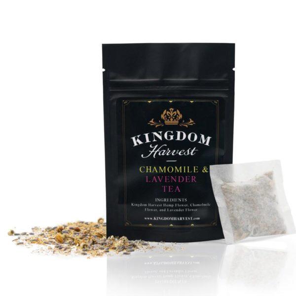 Kingdom Harvest Hemp Tea Chamomile Lavender