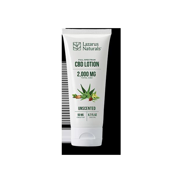lazarus naturals unscented lotion