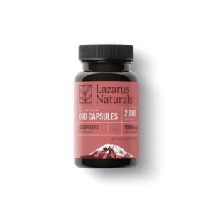 Lazarus Naturals High Potency Capsules