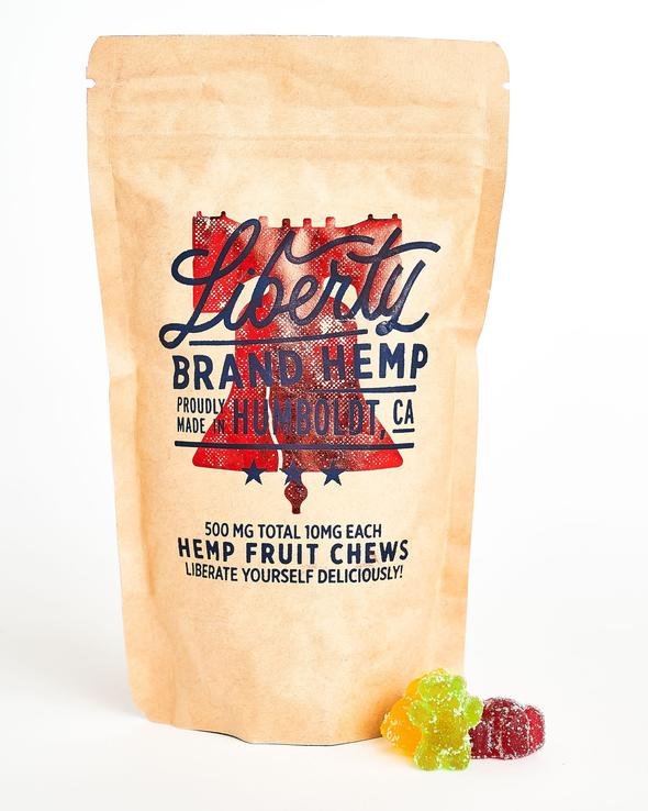 10 mg cbd fruit chews by liberty brand hemp