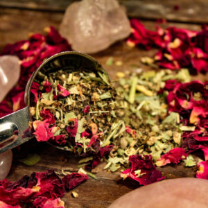Dancing Sage love divine tea blend