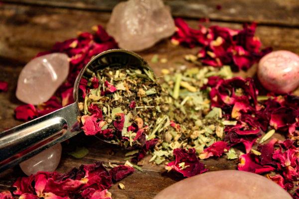 Dancing Sage love divine tea blend