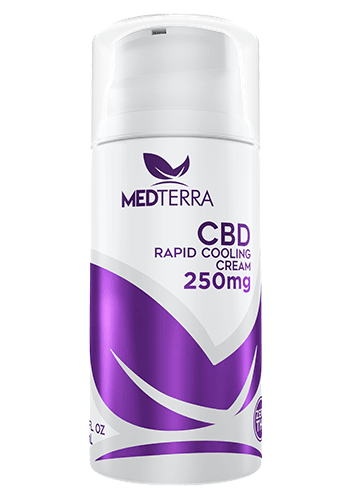 cbd cooling cream made by medterra