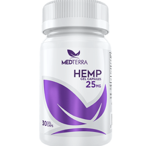 25 mg cbd hemp gel capsules by medterra