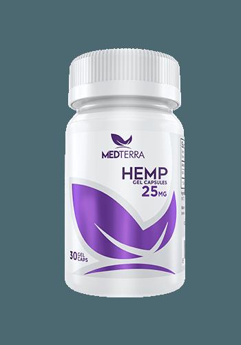 25 mg cbd hemp gel capsules by medterra