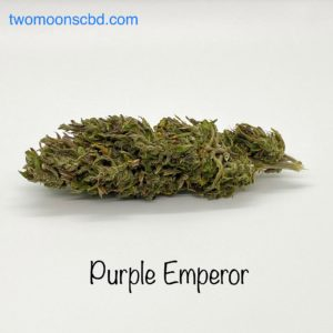 Davis purple emperor hemp flower