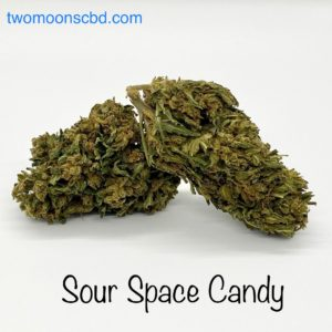 sour space candy hemp flower