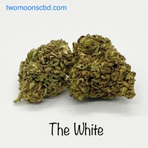 the white cbg hemp flower