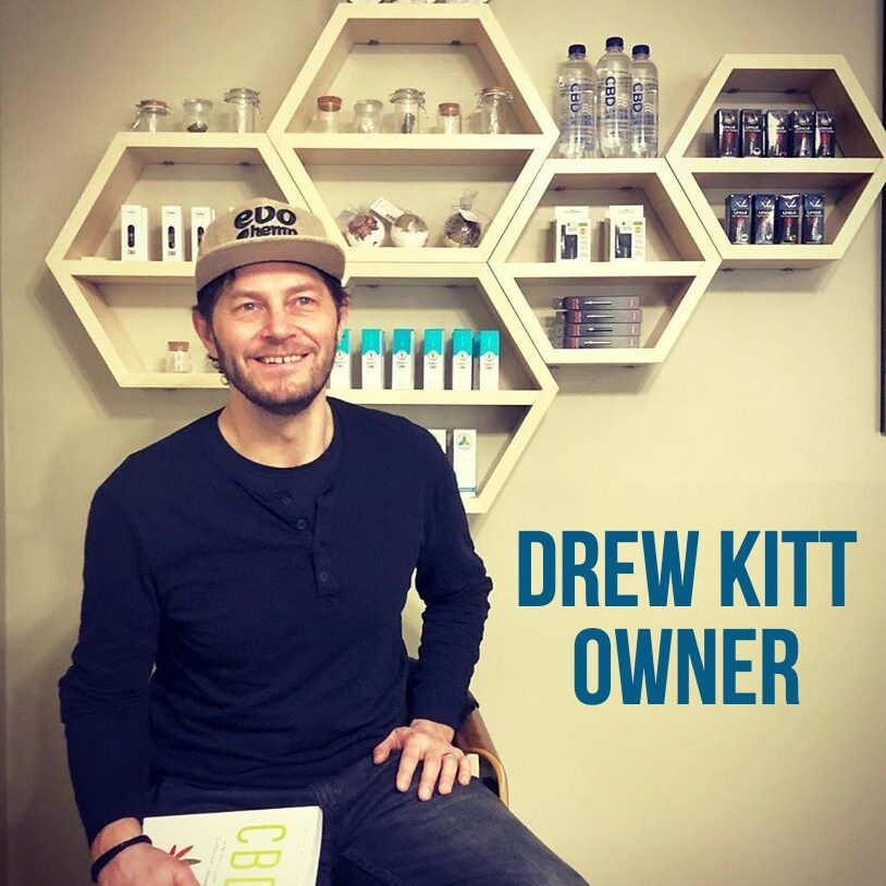 Drew Kitt, Founder and Owner, Two Moons CBD & Wellness