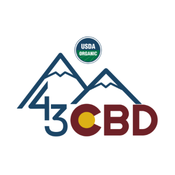 43 CBD Brand Logo