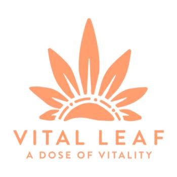 Vital Leaf Brand Logo