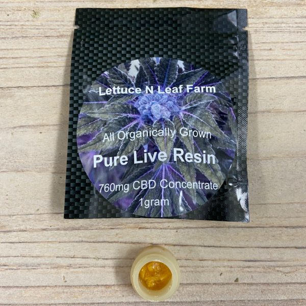 pure live resin concentrate